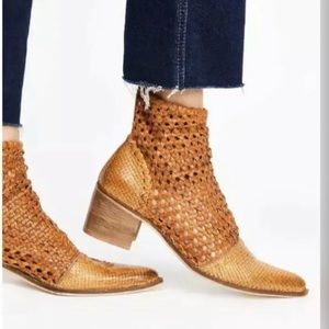 New Free People In The Loop Woven Boot